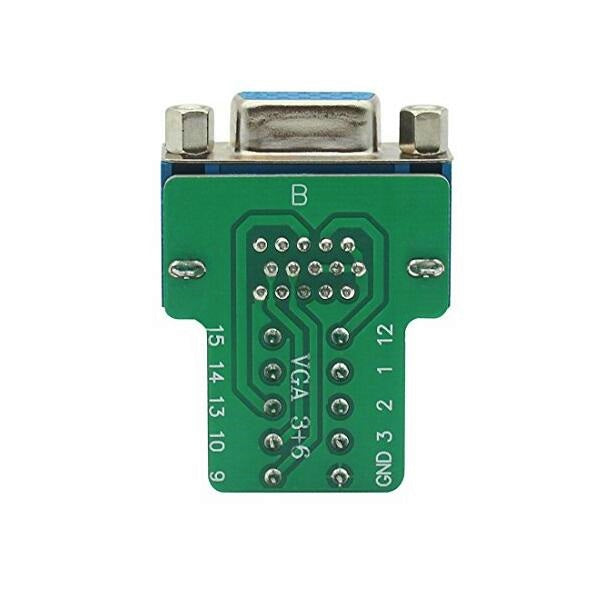 Wholesale DE-15 (DB-15) Female Socket to Terminal Block Breakout