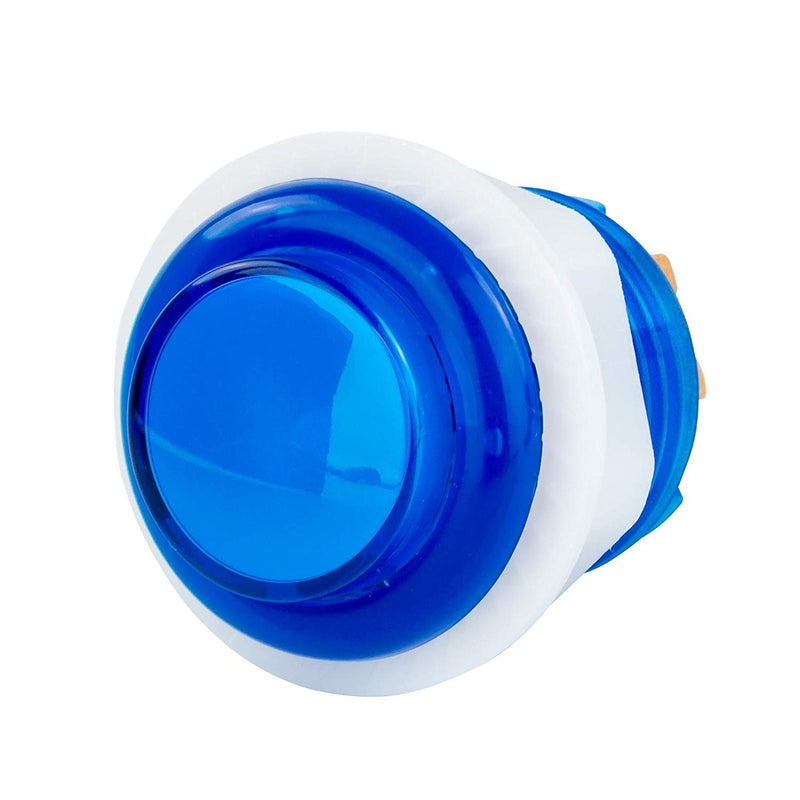 Odseven  Mini LED Arcade Button - 24mm Translucent Blue Wholesale