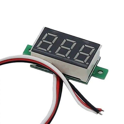 Odseven Mini 3-wire Volt Meter (0 - 99.9VDC) Wholesale