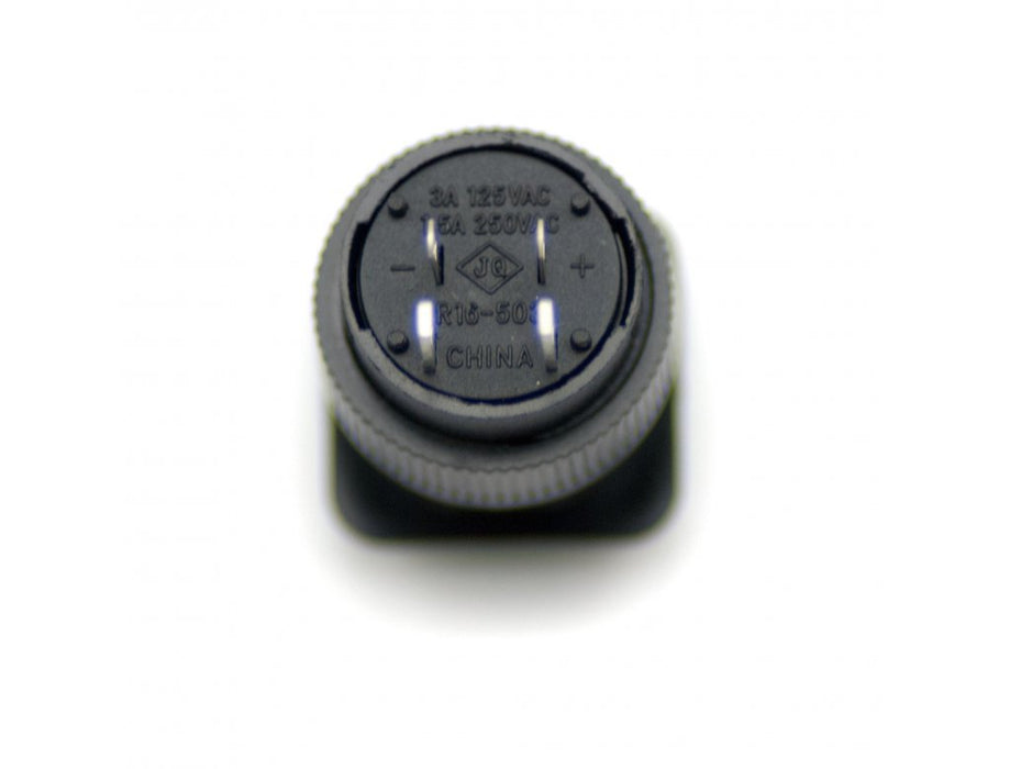 Odseven 16mm Illuminated Pushbutton - Blue Momentary Wholesale