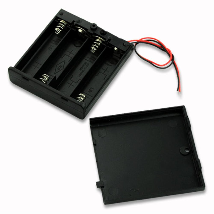 Odseven Wholesale 4 x AA Battery Holder with On/Off Switch