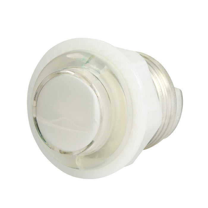 Odseven Mini LED Arcade Button - 24mm Translucent Clear Wholesale