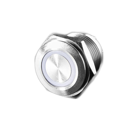 Rugged Metal Pushbutton - 16mm 6V RGB Momentary Wholesale