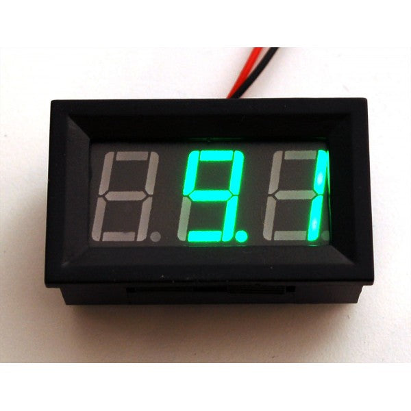 Odseven Panel Volt Meter - 4.5V to 30VDC Wholesale