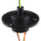 Odseven Slip Ring with Flange - 22mm Diameter-6 Wires-Max  240V @ 2A