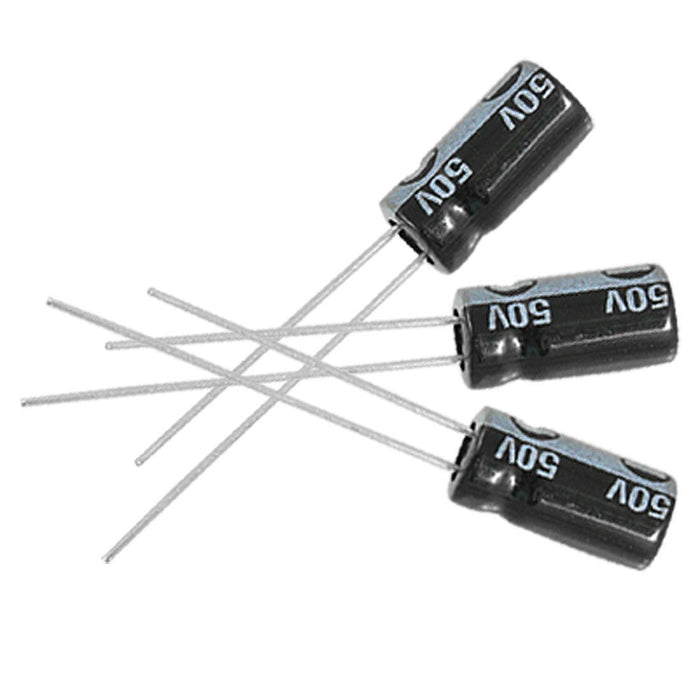 Odseven 10uF 50V Electrolytic Capacitors - Pack of 10 Wholesale