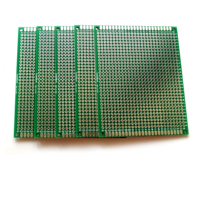 Odseven Penta Angel 10pcs Double-Side Prototype PCB Universal Printed Circuit Board (7x9cm)