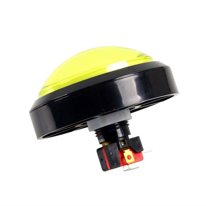 Odseven Massive Arcade Button with LED - 100mm Yellow Wholesale