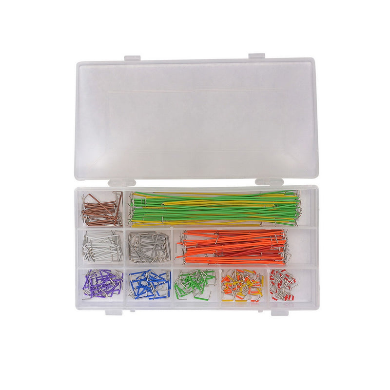 Odseven Preformed Breadboard Jumper Wire Kit --350pcs