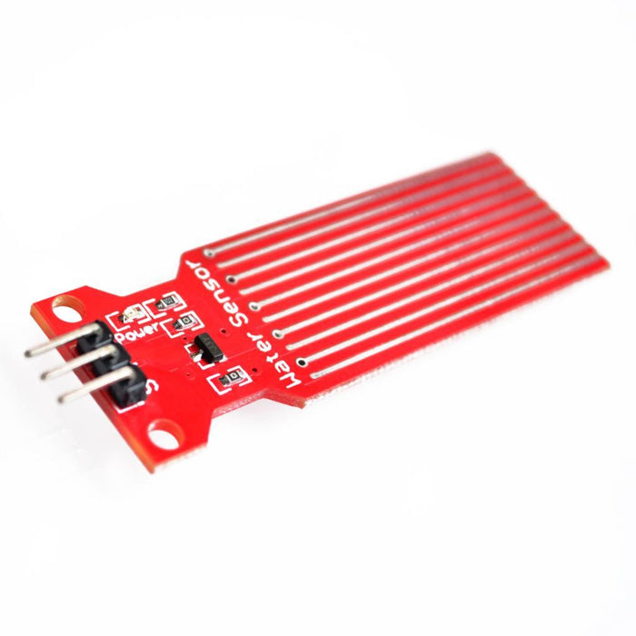Odseven Water Sensor Module for Arduino Moisture / Drop / Depth of Water Test - Red