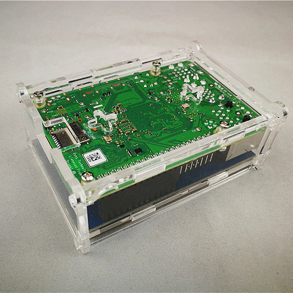 Odseven Acrylic Protected Box for Raspberry Pi 4 Model B