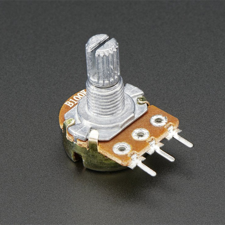 Wholesale Panel Mount 100K Potentiometer (Breadboard Friendly) - 100KB