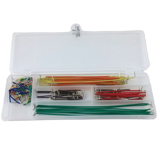 Odseven Pre-formed 140PCS Jumper Wire Kit Solderless Breadboard Jumper Cable Set
