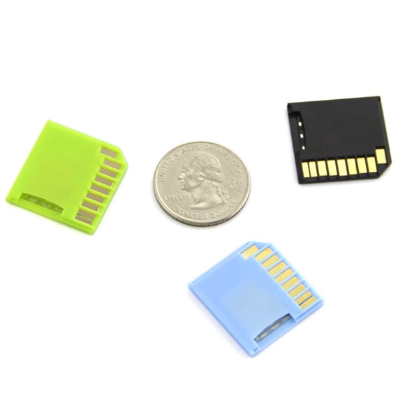 Odseven Pink Shortening microSD adapter for Raspberry Pi & Macbooks