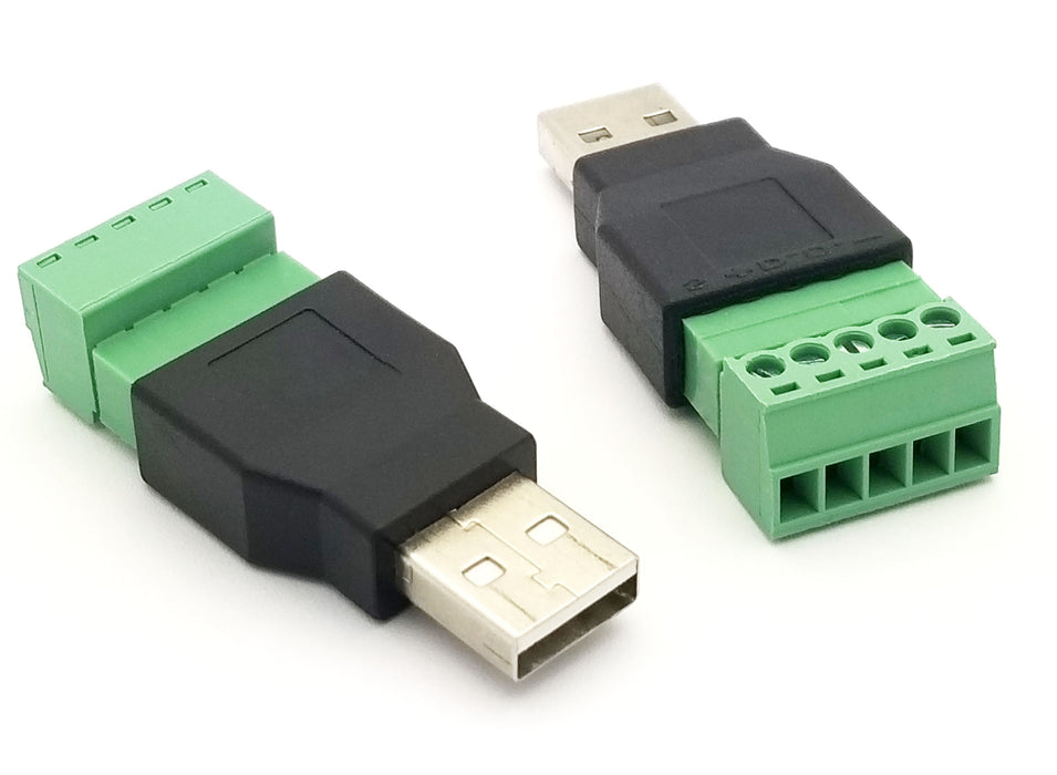Odseven USB-A Male Plug to 5-pin Terminal Block Wholesale