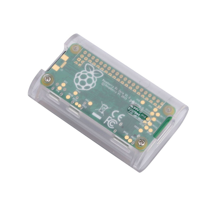 Raspberry Pi Zero Matte Case with Heat Sink and 3 in 1 Adapter Kit Compatible for Raspberry Pi Zero W