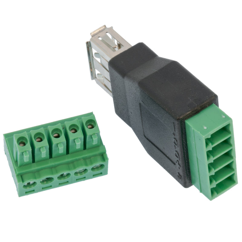 Odseven USB-A Female Socket to 5-pin Terminal Block Wholesale