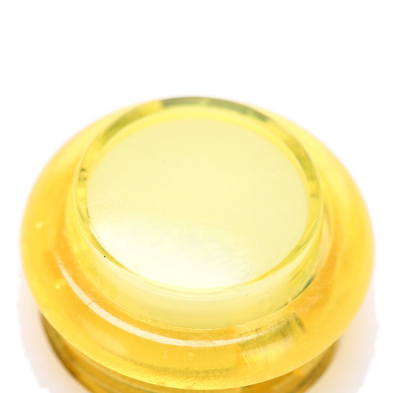 Odseven Mini LED Arcade Button - 24mm Translucent Yellow Wholesale