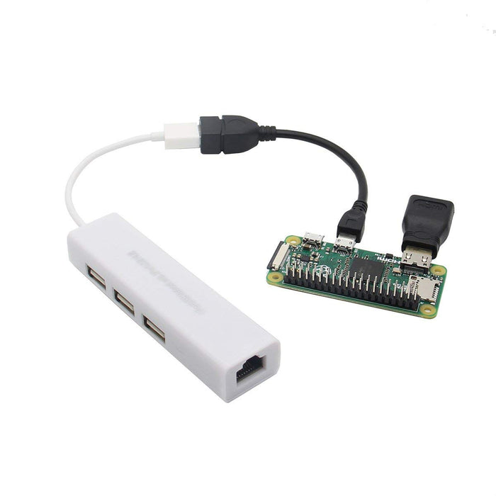 Odseven Start Kit With  Mini HDMI Adapter for Raspberry Pi Zero \ Zero W