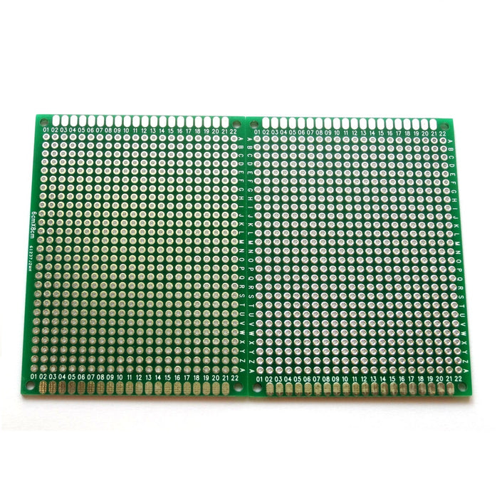 Odseven Penta Angel 10pcs Double-Side Prototype PCB Universal Printed Circuit Board (6x8cm)
