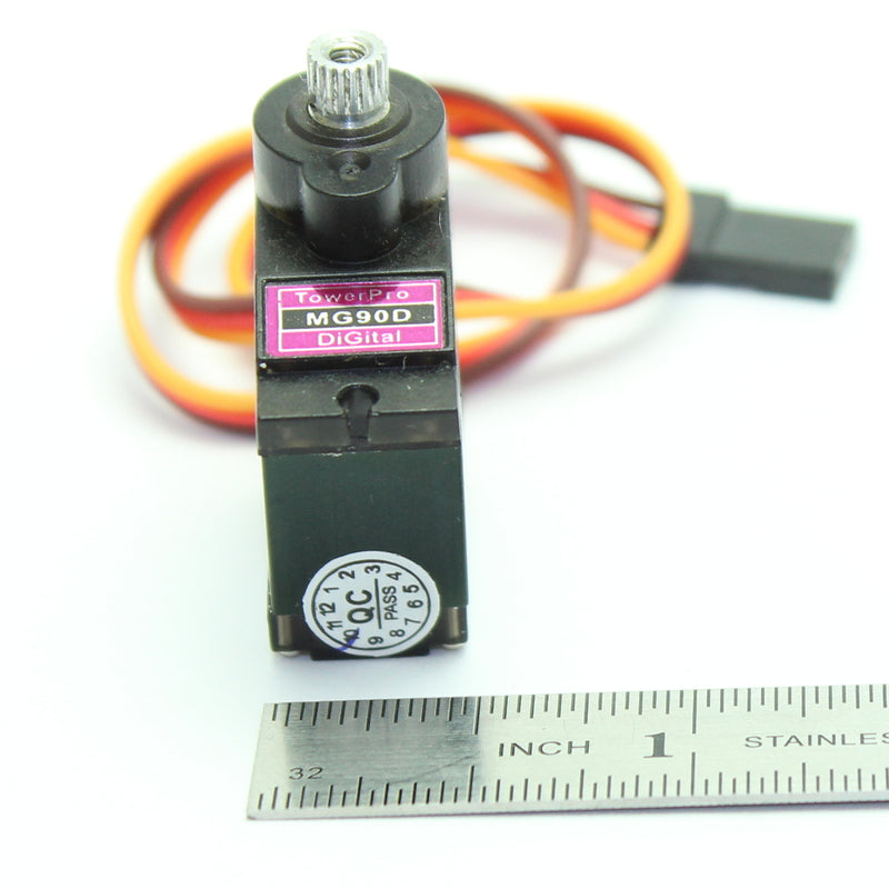 Odseven Micro Servo - MG90D High Torque Metal Gear Wholesale