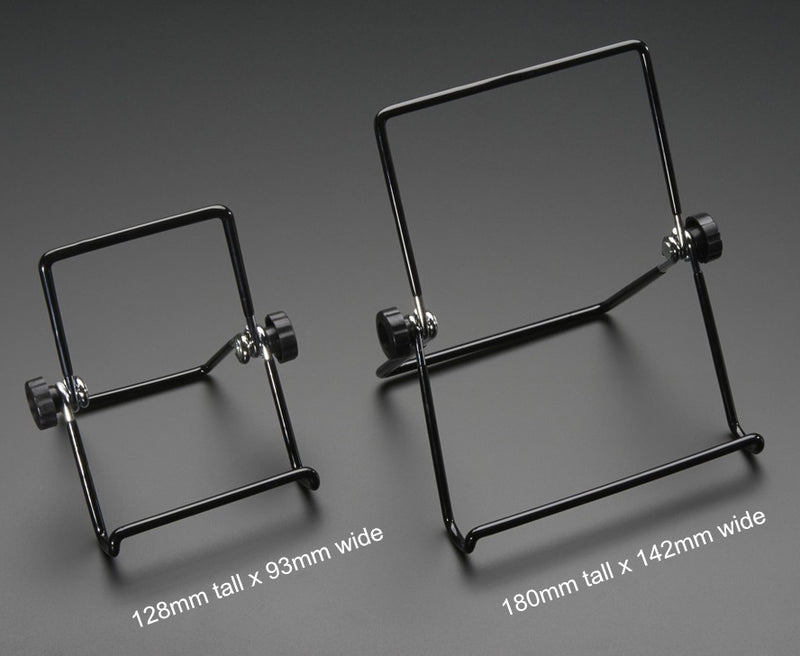 "Odseven Adjustable Bent-Wire Stand - up to 7"" Tablets and Small Screens"
