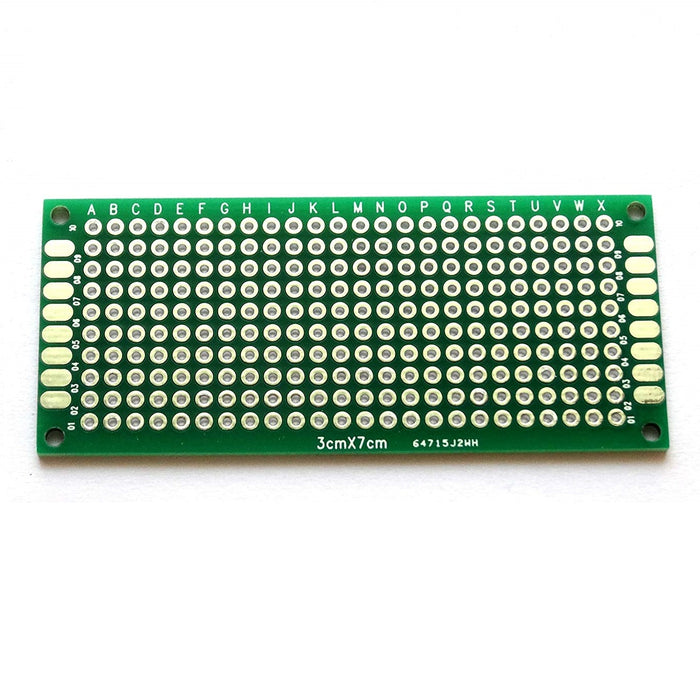 Odseven Penta Angel 10pcs Double-Side Prototype PCB Universal Printed Circuit Board (3x7cm)