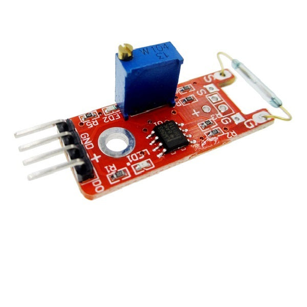Normally Open Reed Sensor Module Magnetic Switch for Arduino 3.3 V-5 V