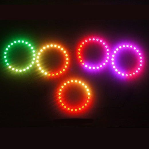 Odseven 16 Bit LEDs WS2812 5050 RGB LED Ring Lamp with Integrated Drivers