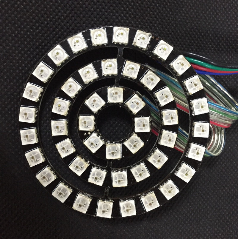 Odseven 8 Bit LEDs WS2812 5050 RGB LED Ring Lamp with Integrated Drivers