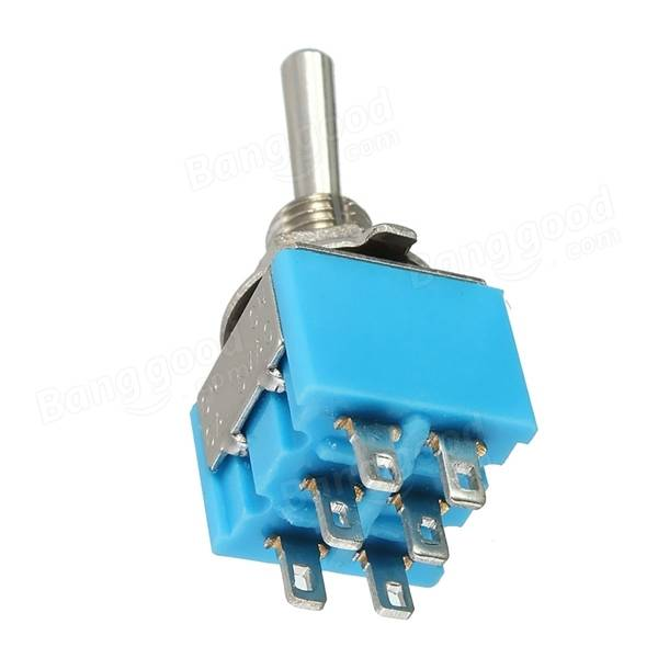 Odseven Mini Panel Mount DPDT Toggle Switch Wholesale