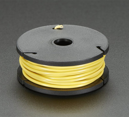 Odseven Solid-Core Wire Spool - 25ft - 22AWG - Yellow Wholesale