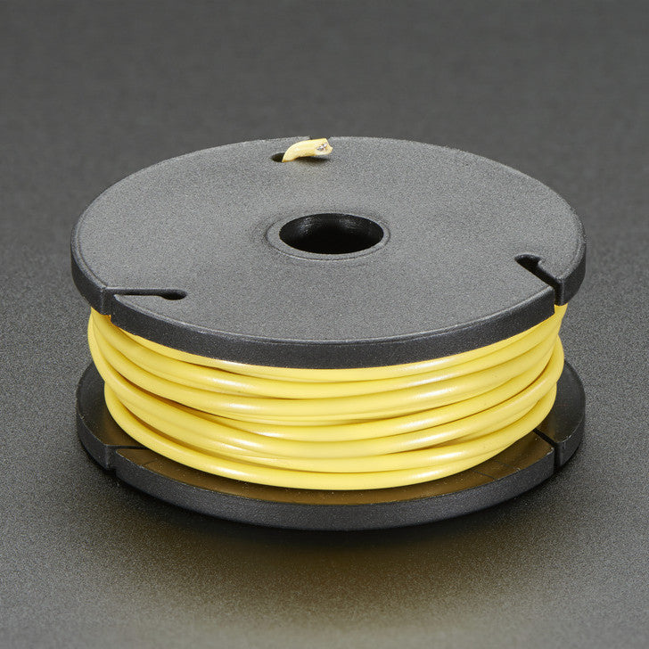 Odseven Standard-Core Wire Spool - 25ft - 22AWG -Yellow Wholesale