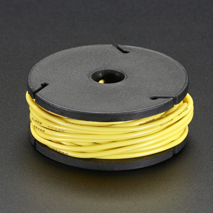 Odseven Silicone Cover Stranded-Core Wire - 25ft 26AWG Yellow Wholesale