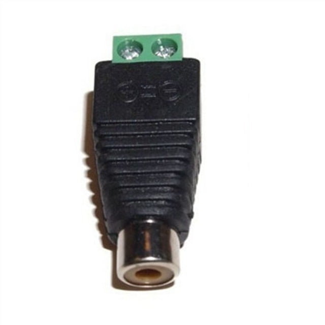 Odseven RCA (Composite Video, Audio) Female Jack Terminal Block