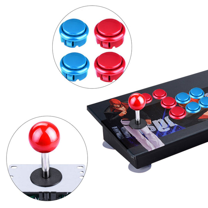 Odseven 2-Player Arcade Buttons and Joystick DIY Controller Kit Wholesale