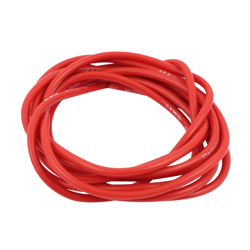 Odseven Silicone Cover Stranded-Core Wire - 2m 26AWG Red Wholesale