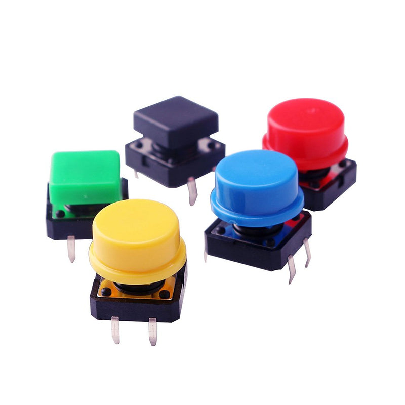 Odseven Electronics Component Pack with Resistors, LEDs, Switch and Potentiometer