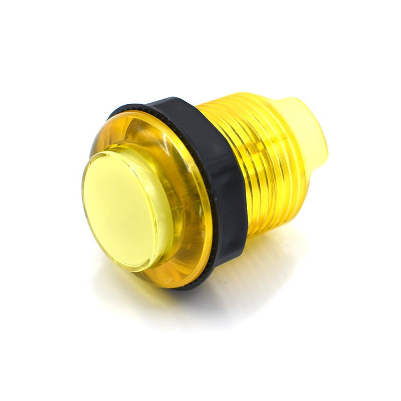 Odseven Arcade Button with LED - 30mm Translucent Yellow Wholesale