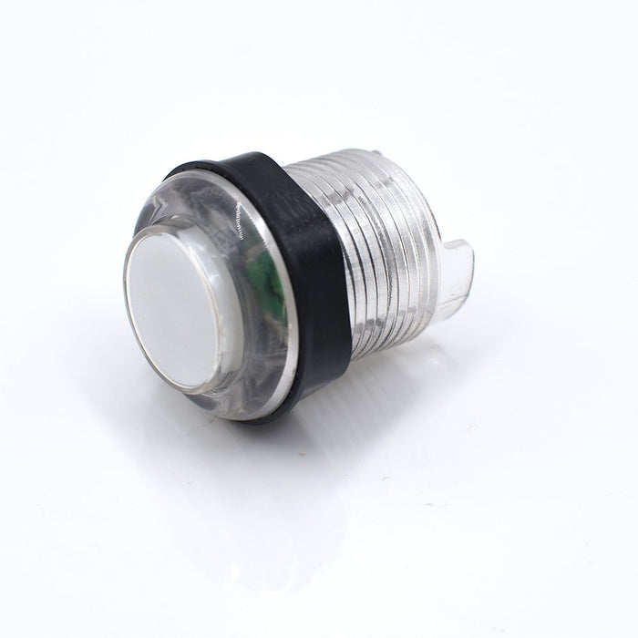Odseven Arcade Button with LED - 30mm Translucent Clear Wholesale