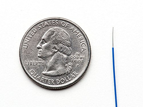 "Odseven ""Wire Wrap"" Thin Prototyping & Repair Wire - 200m 30AWG Blue"