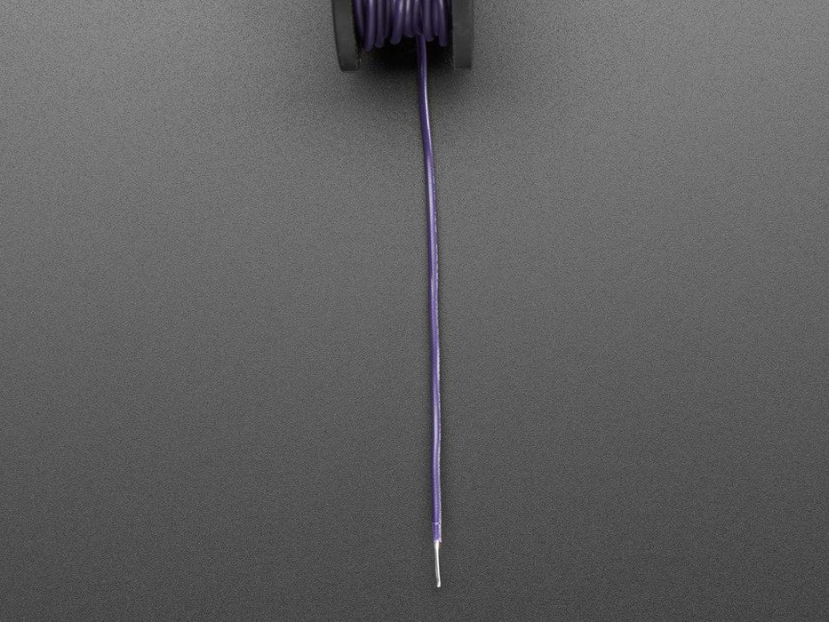 Odseven Solid-Core Wire Spool - 25ft - 22AWG - Violet Wholesale