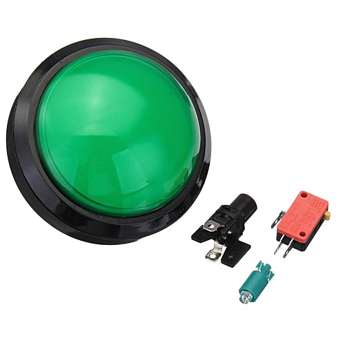 Odseven Massive Arcade Button with LED - 100mm Green Wholesale