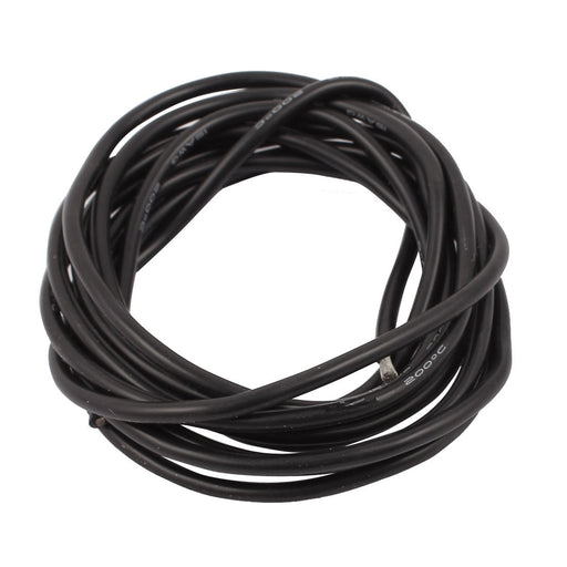 Odseven Silicone Cover Stranded-Core Wire - 2m 26AWG Black Wholesale