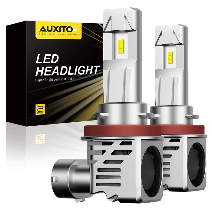 2007 - 2013 Toyota Tundra LED Headlight Low Beam H11 Bulbs