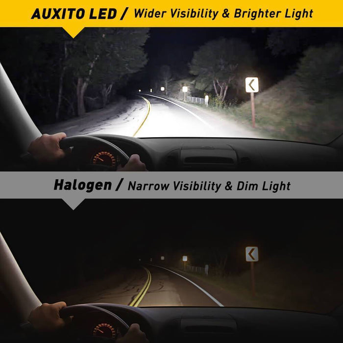 2020 Ford F150 LED Headlight Bulbs High Beam Upgrade-AUXITO