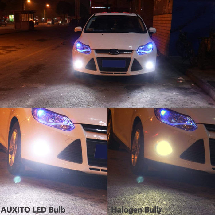 6000K 102-SMD White LED DRL/Day Running Lights/Fog Lights for socket H10 9140 9145 4014