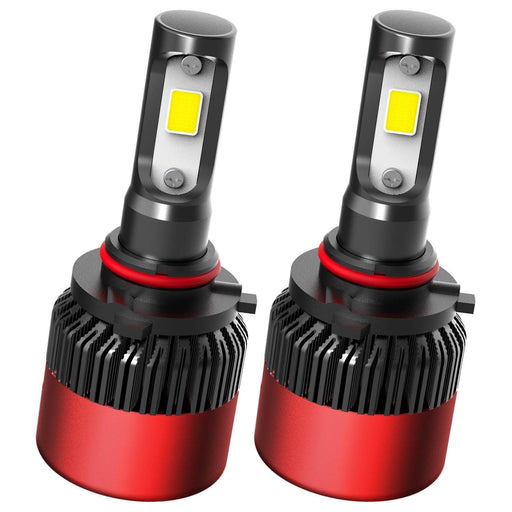 AUXITO Automobile HIR2 9012 LED Headlight Bulbs 72W 8000Lms Per Pair US COB LED Chips