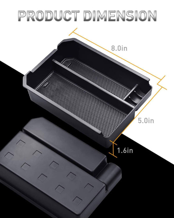 AUXITO Car Center Console Tray Accessories for Toyota Rav4 2014-2018 Armrest Storage Glove Box
