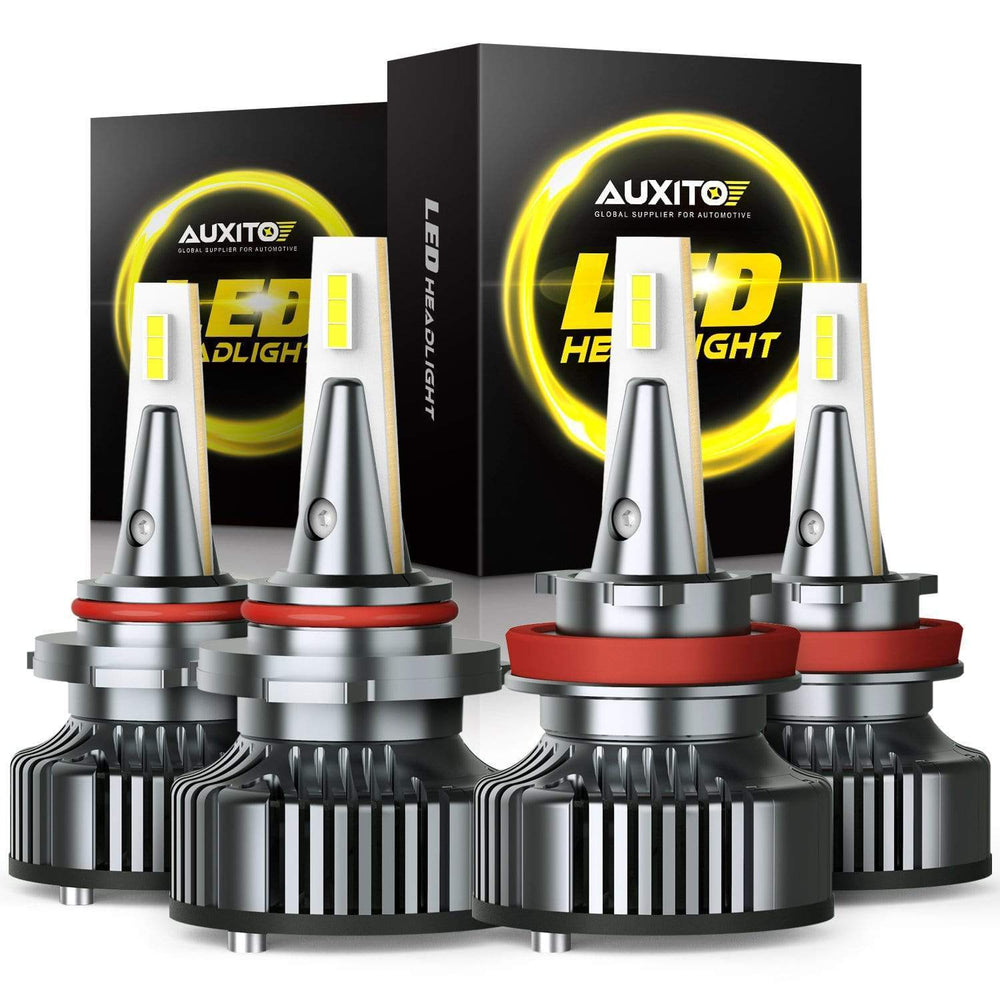 AUXITO for 2020 Ford F-150 LED Headlight Bulbs High Low Beam